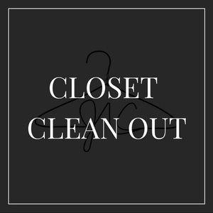 CLOSET CLEANOUT- do NOT buy